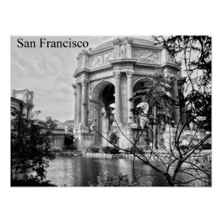 San Francisco Palace of Fine Arts Poster