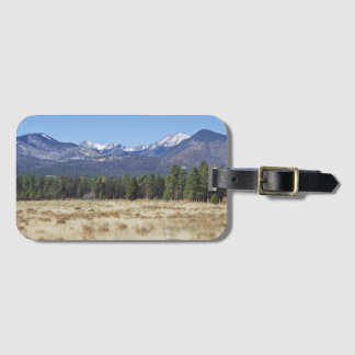 San Francisco Peaks luggage tag