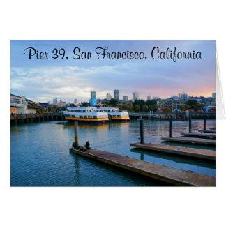 San Francisco Pier 39 #2-2 Card