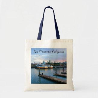 San Francisco Pier 39 #2-3 Tote Bag