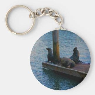San Francisco Pier 39 #3-4 Keychain