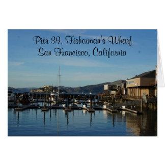 San Francisco Pier 39 #8 Card