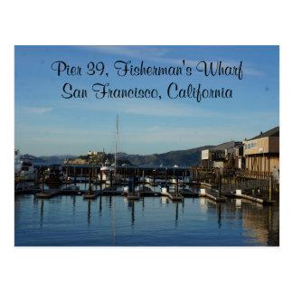 San Francisco Pier 39 #8 Postcard