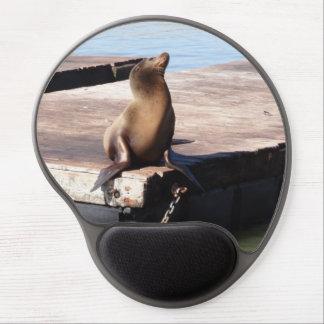 San Francisco Pier 39 Sea Lion Gel Mousepad
