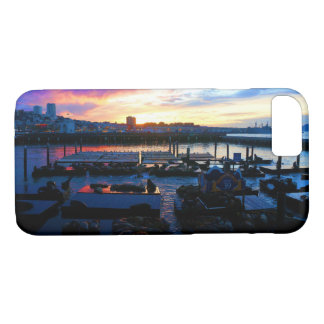 San Francisco Pier 39 Sea Lions #4 iPhone 8/7 Case