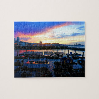 San Francisco Pier 39 Sea Lions #4 Jigsaw Puzzle