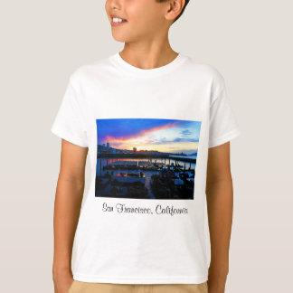 San Francisco Pier 39 Sea Lions #4 Kids T-shirt