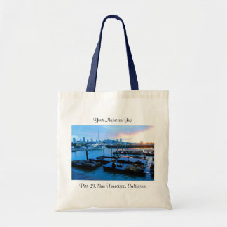 San Francisco Pier 39 Sea Lions #5-1 Tote Bag