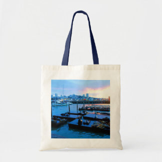 San Francisco Pier 39 Sea Lions #5-2 Tote Bag
