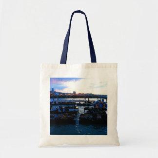 San Francisco Pier 39 Sea Lions #6-1 Tote Bag