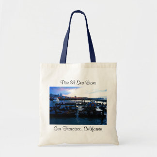 San Francisco Pier 39 Sea Lions #6-2 Tote Bag