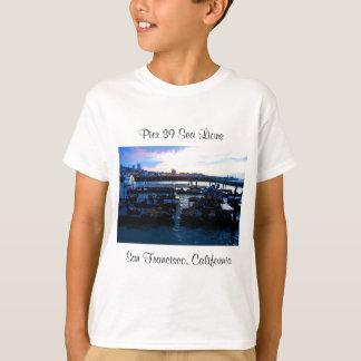 San Francisco Pier 39 Sea Lions #6 Kids T-shirt