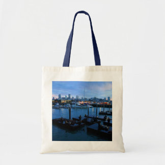 San Francisco Pier 39 Sea Lions #7-1 Tote Bag