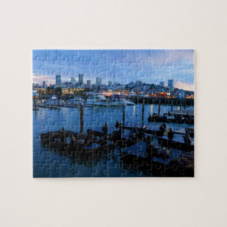 San Francisco Pier 39 Sea Lions #7 Jigsaw Puzzle