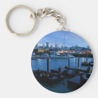 San Francisco Pier 39 Sea Lions #7 Keychain