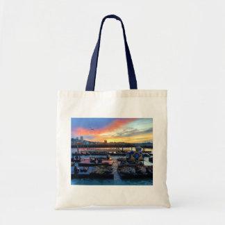 San Francisco Pier 39 Sea Lions #8 Tote Bag