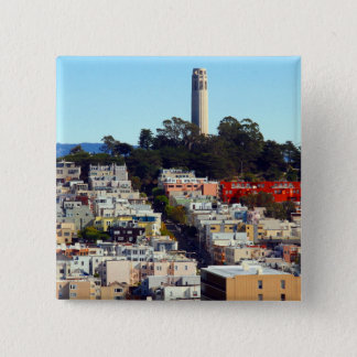 san francisco pioneer park 2 inch square button