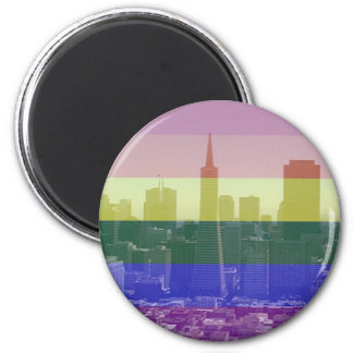 San Francisco Pride Magnet