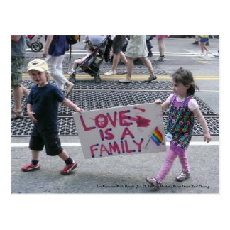 San Francisco Pride Parade... Postcard