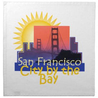 SAN FRANCISCO PRINTED NAPKIN