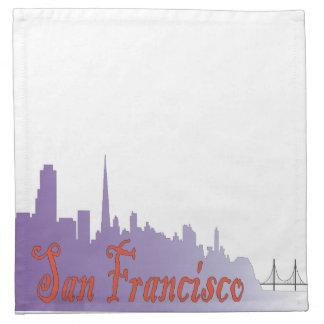 San Francisco Printed Napkins