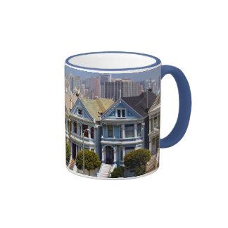 San Francisco s Famous Painted Ladies Mugs