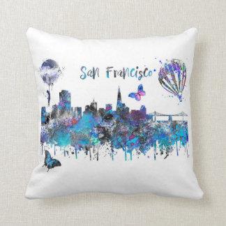 San Francisco, San Francisco California Throw Pillow