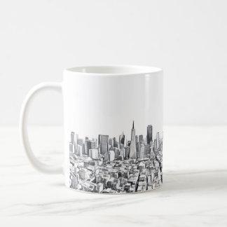 San Francisco SF Citiscape Photograph Coffee Mug