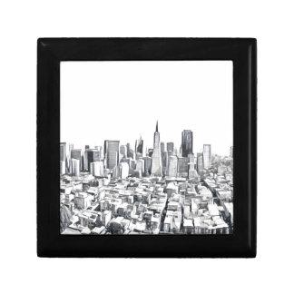 San Francisco SF Citiscape Photograph Gift Boxes