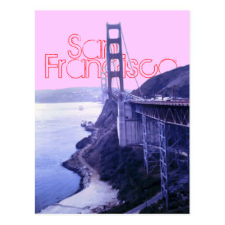 San Francisco (SF) Golden Gate Bridge Postcard