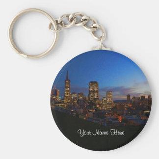 San Francisco Skyline #4-2 Keychain
