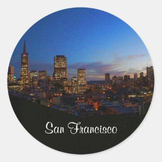 San Francisco Skyline #4 Stickers