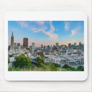 San Francisco Skyline at Sunset Mouse Pad