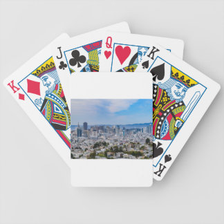 San Francisco Skyline Bicycle Playing Cards