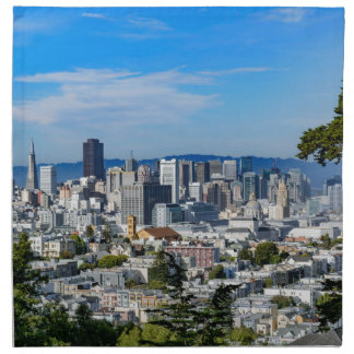 San Francisco Skyline Cloth Napkin
