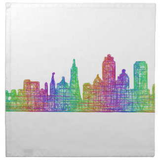 San Francisco skyline Cloth Napkins