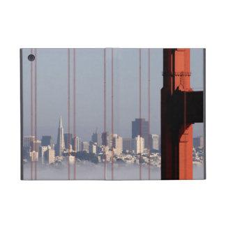 San Francisco Skyline from Golden Gate Bridge. Cover For iPad Mini