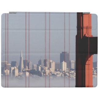 San Francisco Skyline from Golden Gate Bridge. iPad Cover