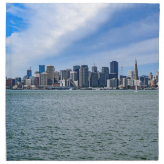 San Francisco Skyline Napkins