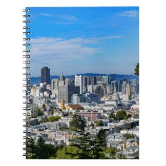 San Francisco Skyline Note Book