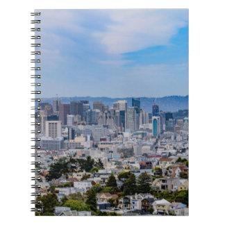 San Francisco Skyline Notebook