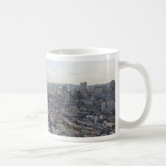 San Francisco Skyline Panorama Coffee Mug
