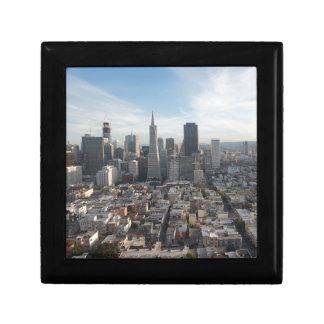 San Francisco Skyline Panorama Gift Box