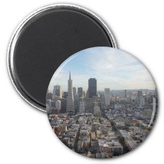 San Francisco Skyline Panorama Magnet