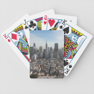 San Francisco Skyline Panorama Poker Deck