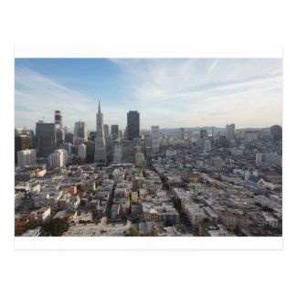 San Francisco Skyline Panorama Postcard