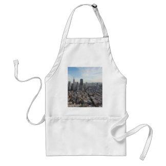 San Francisco Skyline Panorama Standard Apron