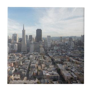 San Francisco Skyline Panorama Tile