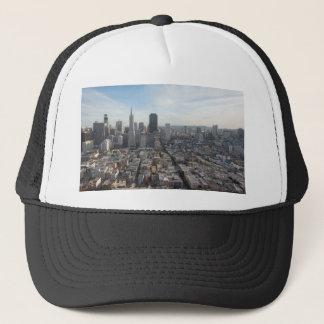 San Francisco Skyline Panorama Trucker Hat