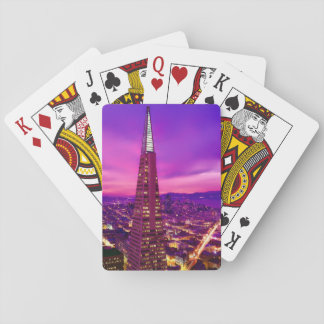 San Francisco Skyline Playing Cards